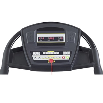 Smooth Fitness 5100e Plus Laufband - Connect+ App Steuerung, 42x125cm Lauffläche, Elektronische Neigungswinkelverstellung 0-12%, 36 Programme, Herzfrequenz-Training -