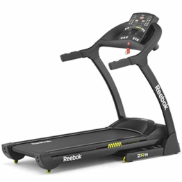 Reebok Laufband ZR8 Treadmill, Black/Yellow, RE1-11820BK -